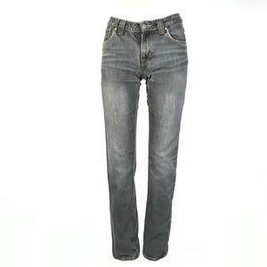 Nudie slim straight jeans 27x33